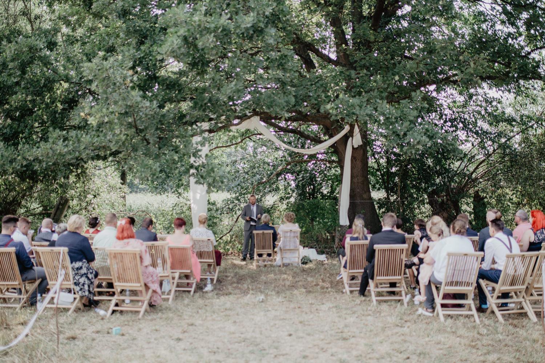 Freie Trauung Wiese Hochzeit Draussen Natur Garten Boho Vintage 16
