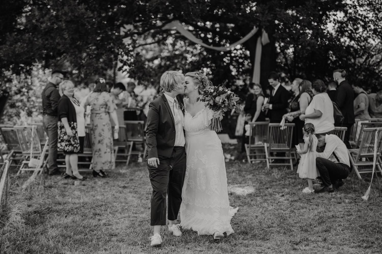 Freie Trauung Wiese Hochzeit Draussen Natur Garten Boho Vintage 28