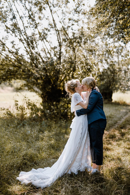 Freie Trauung Wiese Hochzeit Draussen Natur Garten Boho Vintage 45
