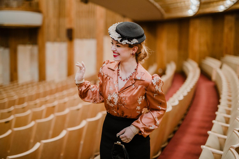 Fashionshooting In Der Oper